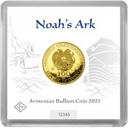 1 g Gold Armenien Arche Noah 2021