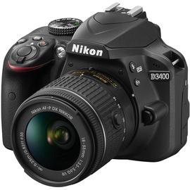 Nikon D3400 schwarz + AF-P DX 18-55mm VR