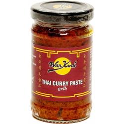 Wan Kwai Thai Curry Paste gelb Gewürzpaste roter Chili  110g 3er Pack