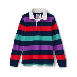 Rugby-Shirt - 92/98 - Blau