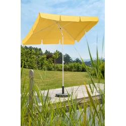Schneider Schirme Sonnenschirm Ibiza, LxB: 180x120 cm, ohne Schirmständer gelb