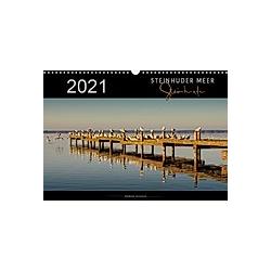 Steinhuder Meer - Steinhude (Wandkalender 2021 DIN A3 quer) - Kalender