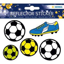 Reflektorsticker Fußball