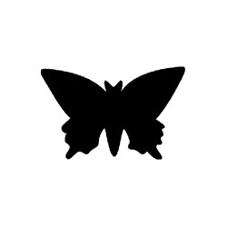 Stanze Schmetterling 16 mm
