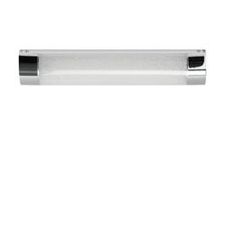 LED-Badleuchte, 1-flammig, Kristalloptik ´klein´ ¦ silber
