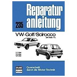 VW-Golf / Scirocco (bis Sept. 77) - Buch