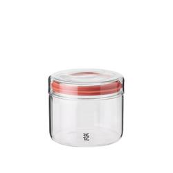 Stelton Aufbewahrungsbox RIG-TIG Aufbewahrungsglas STORE-IT 0.5 l, Glas, Silikon