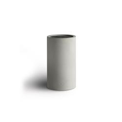 Springlane Messerblock Beton, Universal Messerhalter ohne Messer grau