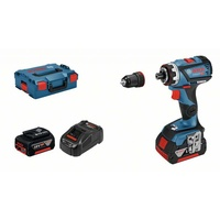Bosch GSR 18V-60 FC Professional inkl. 2 x 5,0 Ah + L-Boxx (06019G7101)