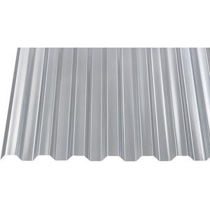 Polycarbonat Wellplatten Profilplatten Trapez 76/18 klar ohne Struktur (4000 x 1040 mm)