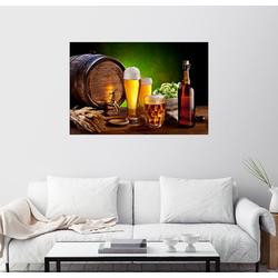 Posterlounge Wandbild, EDLER GERSTENSAFT 100 cm x 70 cm