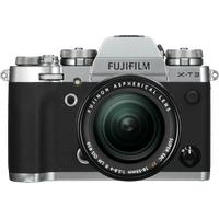 Fujifilm X-T3 silber + XF 18-55 mm R LM OIS