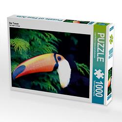 Der Tucan Lege-Größe 64 x 48 cm Foto-Puzzle Bild von Norderneye Puzzle