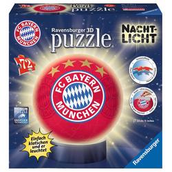 Ravensburger Puzzleball Nachtlicht FC Bayern München bunt Kinder Bundesliga-Fanshop Fanartikel Puzzles