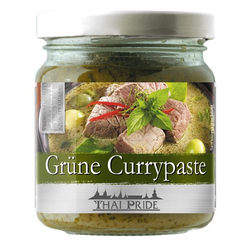Thai Pride Currypaste, grün, 3er Pack (3 x 195 g)