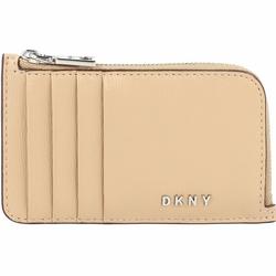 DKNY Bryant Kreditkartenetui Leder 13 cm jute