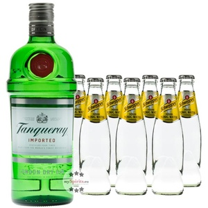 Tanqueray London Dry Gin & Schweppes Indian Tonic Set