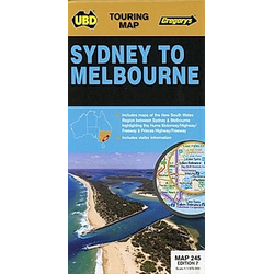 Sydney to Melbourne   1 : 1 175 000 - Buch