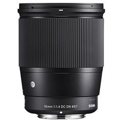 SIGMA 16mm 1.4 DC DN Canon EF-M Objektiv