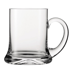 SPIEGELAU Bierkrug Germania 500 ml, Kristallglas weiß