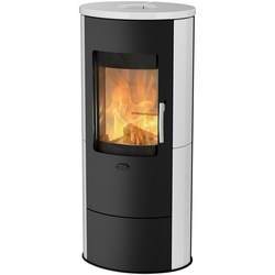 Fireplace Kaminofen ROMA 2 Keramik, 5,5 kW, Zeitbrand
