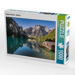 Pragser Wildsee - Südtirol Lege-Größe 64 x 48 cm Foto-Puzzle Bild von Achim Thomae Puzzle