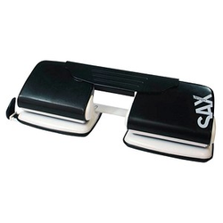 sax design Doppellocher 300 schwarz