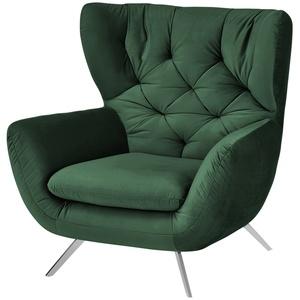pop Hochlehnsessel ¦ grün ¦ Maße (cm): B: 100 H: 106 T: 95 » Möbel Kraft