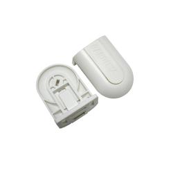Gardinenstange Rolloträger für GT-1 weiß cm, GARDINIA
