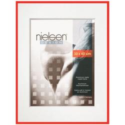 Nielsen Pixel Alurahmen 13x18 rot