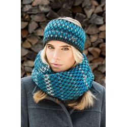 Eisglut Stirnband Balbina Strick-Haarband mit Innen-Fleece