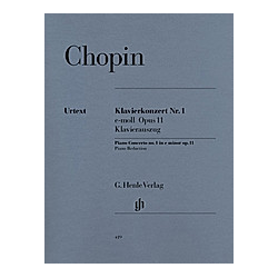 Klavierkonzert Nr.1 e-Moll op.11  Klavierauszug. Frédéric - Klavierkonzert Nr. 1 e-moll op. 11 Chopin  - Buch