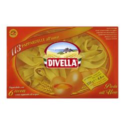 (5.56 EUR/kg) Divella Pappardelle all'Uovo N°113  - 250 g