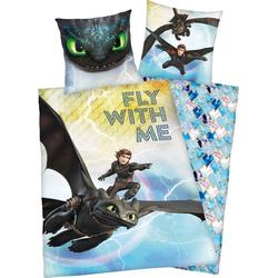 Kinderbettwäsche Dragons, mit tollem