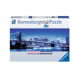 Ravensburger Puzzle Leuchtendes New York, 1000 Puzzleteile, Made in Germany
