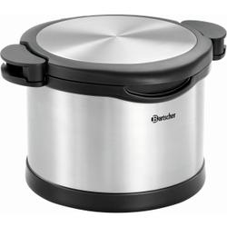 Bartscher Thermo- Kochtopf- Set, Topfduo inklusive Kochtopf und Thermobehälter, Fassungsvermögen: 6 Liter