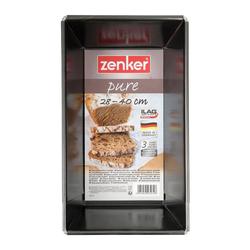Zenker Brotbackform Pure Universal-Brotbackform Ausziehbar 28-40 cm