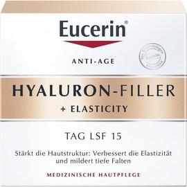 Eucerin Hyaluron-Filler + Elasticity Tagespflege Creme 50 ml