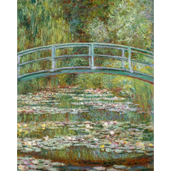 Kunstdruck MONET / Die japanische Brücke