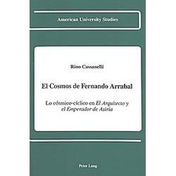 El Cosmos de Fernando Arrabal. Rino Cassanelli  - Buch