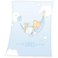 Baby Best babybest® Soft-Peach-Decke »Little Tiger«,