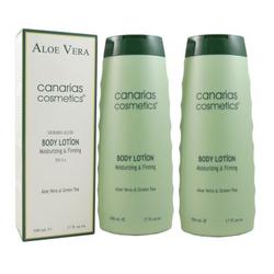 Canarias Cosmetics Aloe Vera Dermo Body Lotion 2 x 500 ml Körperlotion Set