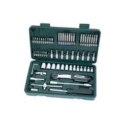 Brüder Mannesmann Werkzeuge Werkzeugset (65-tlg), (65-St), Steckschlüsselsatz