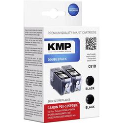 KMP KMP Tintenpatronen 2er-Pack C81D Schwarz 1513,0021 Tintenpatrone