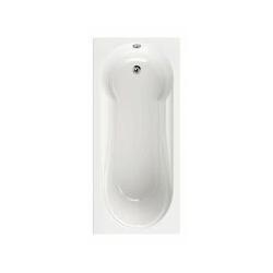 Acryl-Badewanne Facila 180 x 80 cm Rechteckig Weiß Rechteck-badewannen Zubehör