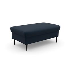 DOMO collection Sitzhocker, in moderner Optik blau