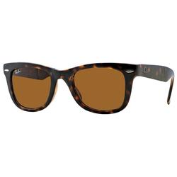 RAY BAN Sonnenbrille FOLDING WAYFARER RB4105 braun L