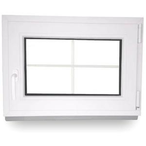Fenster Kunststofffenster Garagenfenster Kellerfenster Sprossenfenster 2 Fach