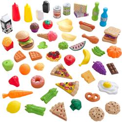 KidKraft Spiellebensmittel, für Kaufladen oder Kinderküche bunt Kinder Kinderküchen Zubehör Spiellebensmittel