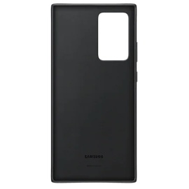 Samsung Leather Cover EF-VN985 für das Galaxy Note20 Ultra black
